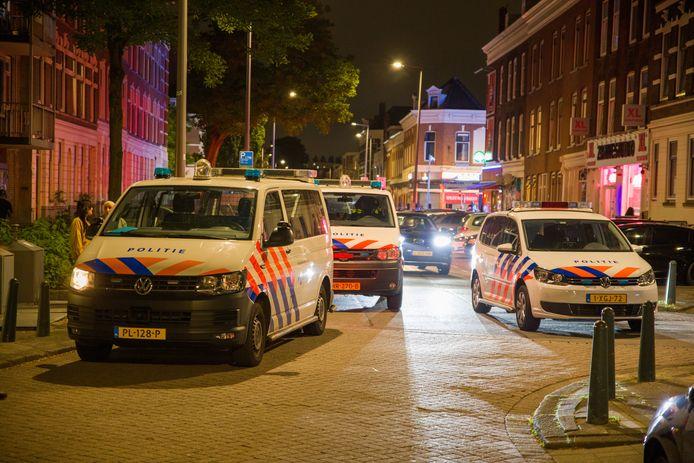 Een ruzie op de Vijverhofstraat liep uit in een steekincident.
