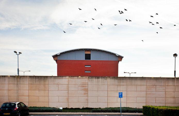 De gevangenis in Zwolle.