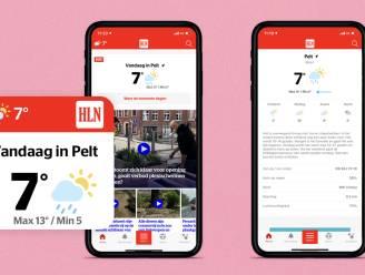 Wordt het terrasjesweer in jouw gemeente? Check het voortaan in de HLN-app