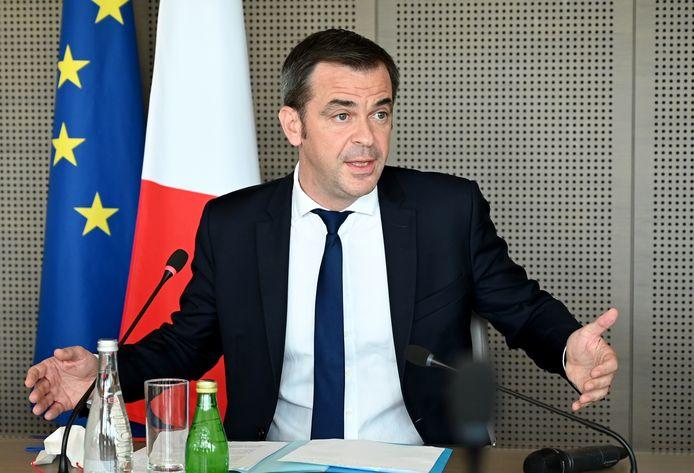 Minister van Volksgezondheid Olivier Véran