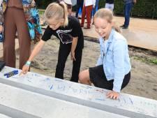 Gesigneerde heipaal voor nieuw MFC Aardenburg