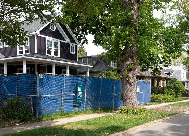 Nieuwe, witte buurtbewoners laten huizen in de Fifth Ward volledig herbouwen.  Beeld Sarah Hoskins