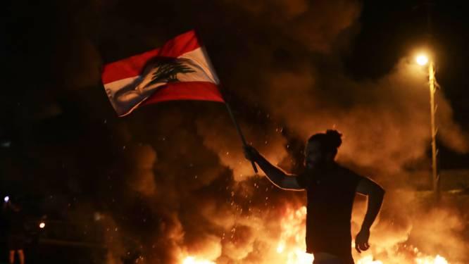 Man doodgeschoten bij aanhoudende protesten in Libanon