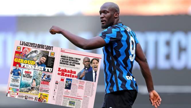 """Verlengd verblijf Lukaku is wereldnieuws in Italië en Engeland: """"Hij heeft gesproken met Inzaghi"""""""