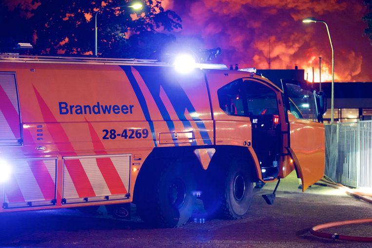 De Vakvereniging Brandweer Vrijwilligers wil een verbod op knalvuurwerk. Beeld ANP