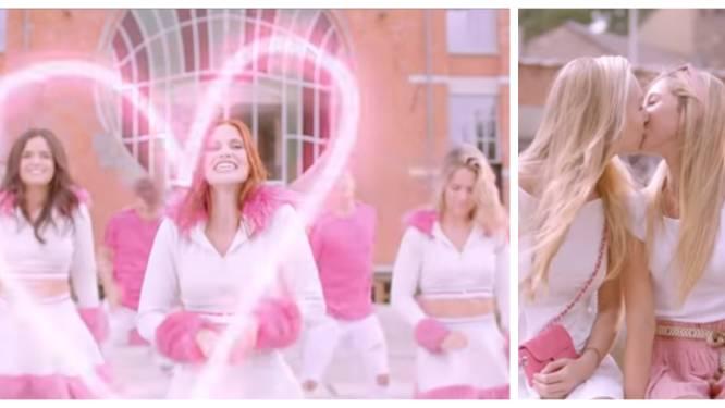 K3 laat meisjes kussen in nieuwe videoclip (en krijgt commentaar door vermoedens van plagiaat)