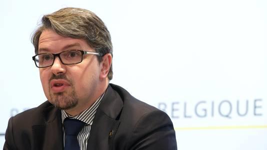 Federaal procureur Frédéric Van Leeuw