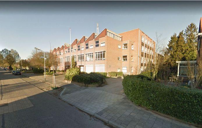 Het schoolgebouw aan de Vossenlaan in Nijmegen.