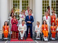 Paralympische sporters als helden onthaald: 'Allemaal toppers'
