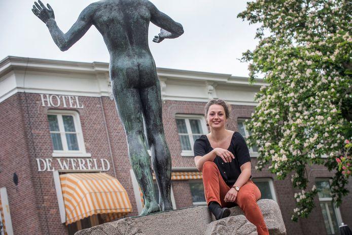 Oud-stadsdichter Ivanka de Ruijter.