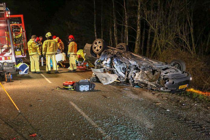 Ernstig eenzijdig ongeval op Beleven in Reusel.