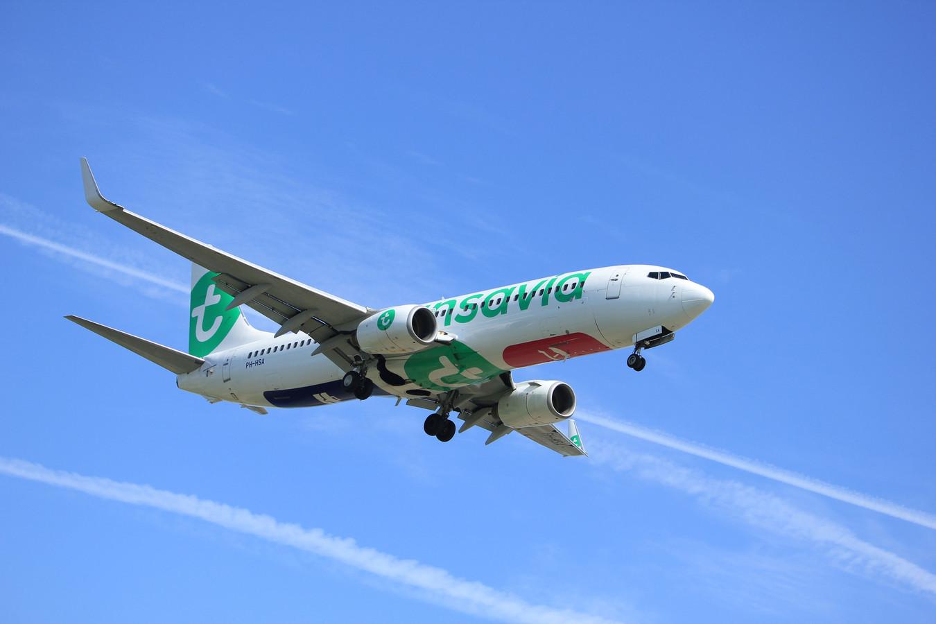 Met dit type Boeing 737-800 van Transavia wordt de belevingsvlucht uitgevoerd. De tijdstippen van de belevingsvlucht zijn gebaseerd op informatie van het ministerie. De werkelijke tijdstippen kunnen in de praktijk enigszins afwijken.