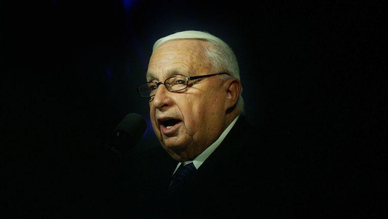 Ariel Sharon in 2005. Beeld ap