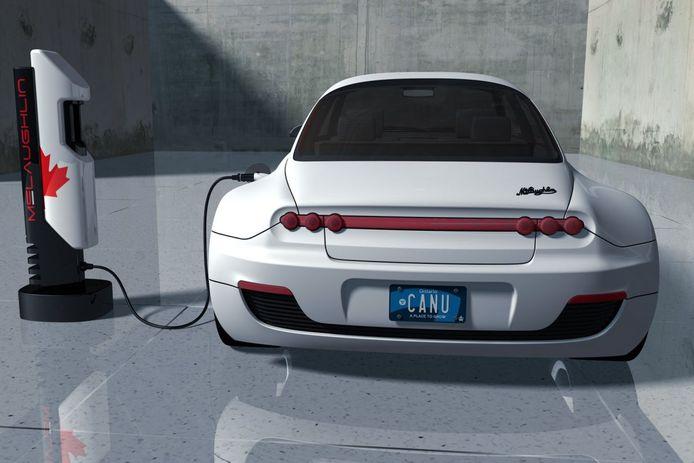 'Maple Majestic' heet de nieuwe Canadese fabrikant van elektrische auto's.
