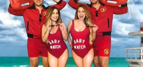 Identieke tweeling trouwt met identieke tweeling, nu zijn ze samen zwanger