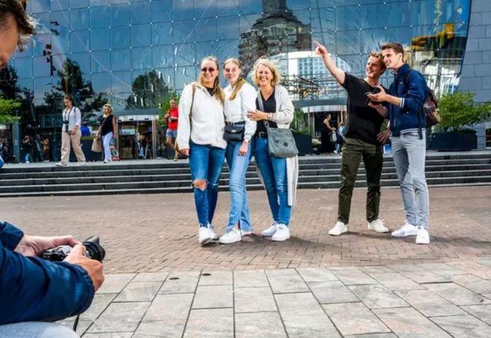 Een dagje toerist in Rotterdam.