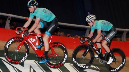 Hesters-Boussaer winnen met vijf ronden voorsprong Gentse Toekomstzesdaagse