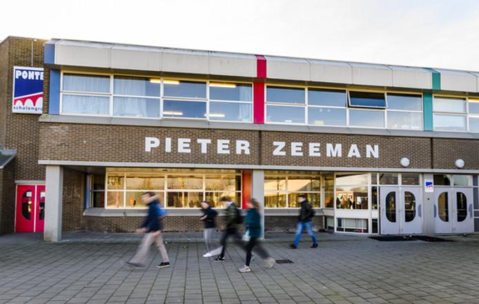 Pieter Zeeman in Zierikzee.