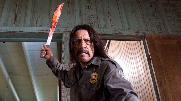 Danny Trejo in Machete. Beeld