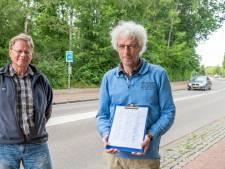 Wouwenaren in actie voor een veiligere Molensingel: 'Straks is het kalf verdronken en dempt men de put'