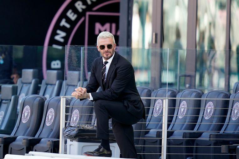 David Beckham is eigenaar van Inter Miami CF. Beeld AP