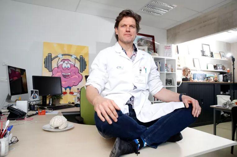 Professor Steven Laureys Beeld Kristof Ghyselinck