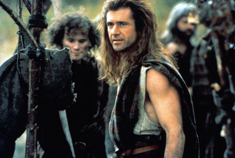 Mel Gibson in 'Braveheart'. Beeld 20th Century Fox