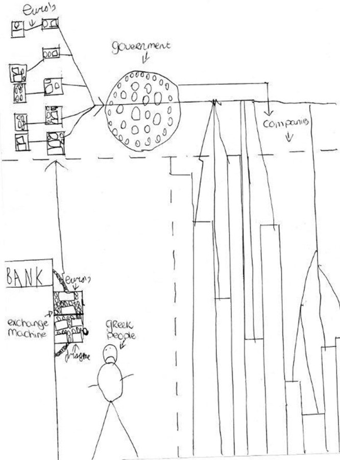 De tekening van het plan van Jurre Hermans