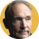 De mensen: sir Tim Berners-Lee, Pedro De Bruyckere en Dirk Ramaekers