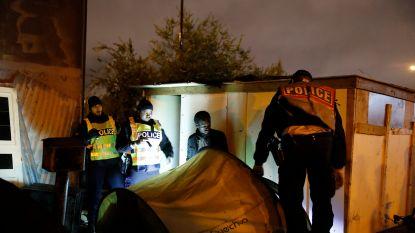 Frankrijk start met ontruiming migrantenkampen in noordoosten van Parijs