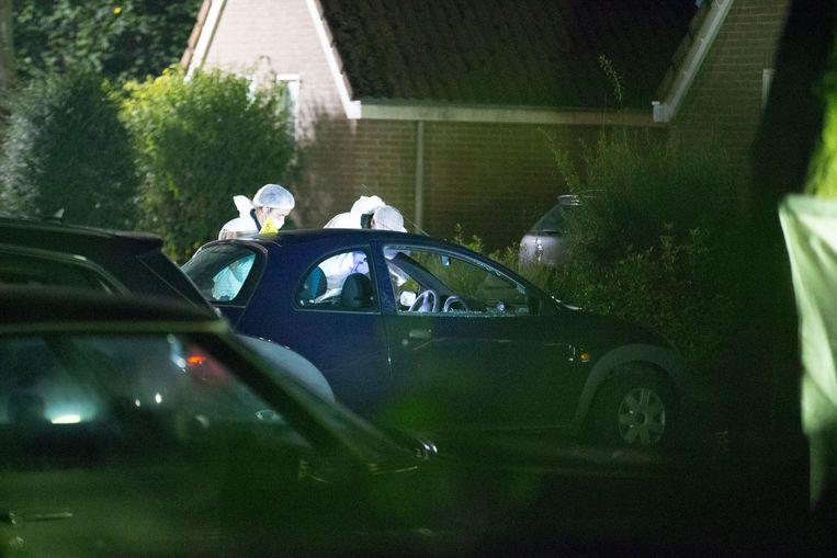 Naast de moordpoging op de twee mannen, ziet het OM Gerel Palm ook als de persoon die in 2015 spyshopmedewerker Ronald Bakker heeft doodgeschoten. Beeld ANP