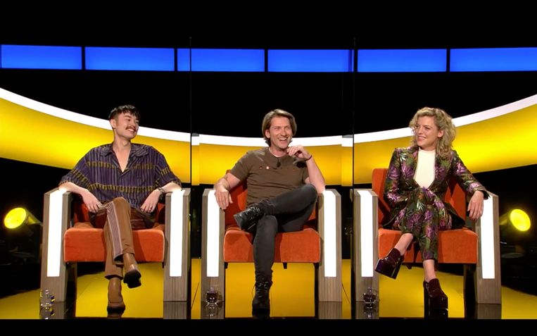 Umi Vervoort, Gene Thomas en Ella Leyers Beeld SBS