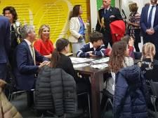 Máxima in Breda voor opening Week van het Geld