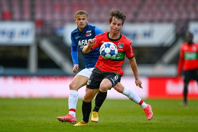 NEC-middenvelder Dirk Proper, eerder dit seizoen.