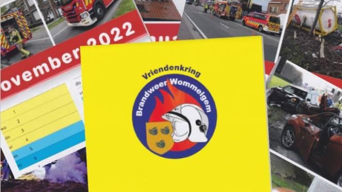 Geen naaktkalender, wel foto's van belangrijke interventies: steun het Wommelgemse brandweerkorps