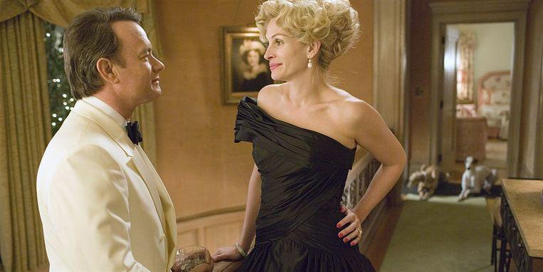 Beeld uit Charlie Wilson's War (2007), met Tom Hanks en Julia Roberts. Beeld
