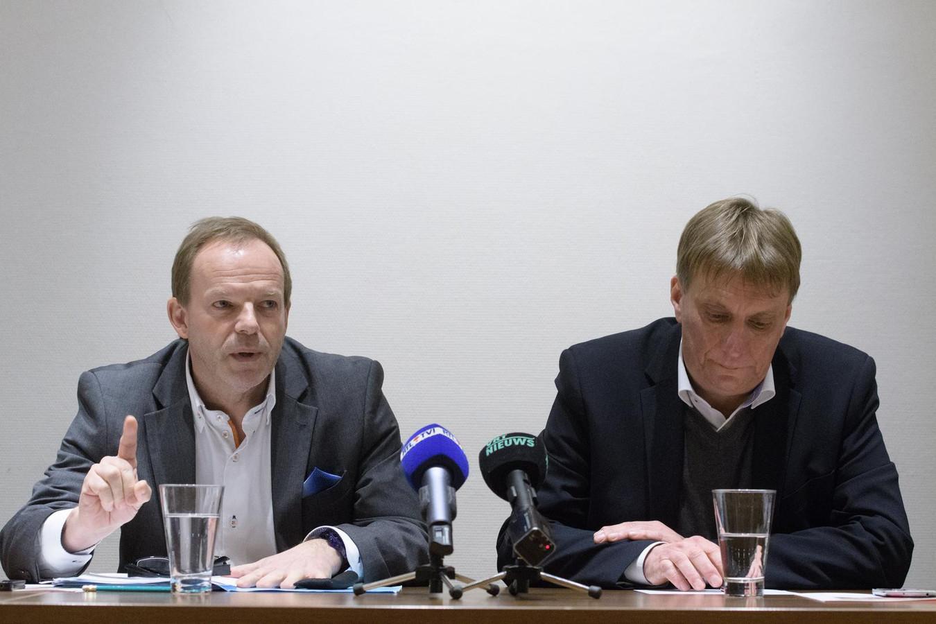 Damien Thiéry et Yves Ghéquière.