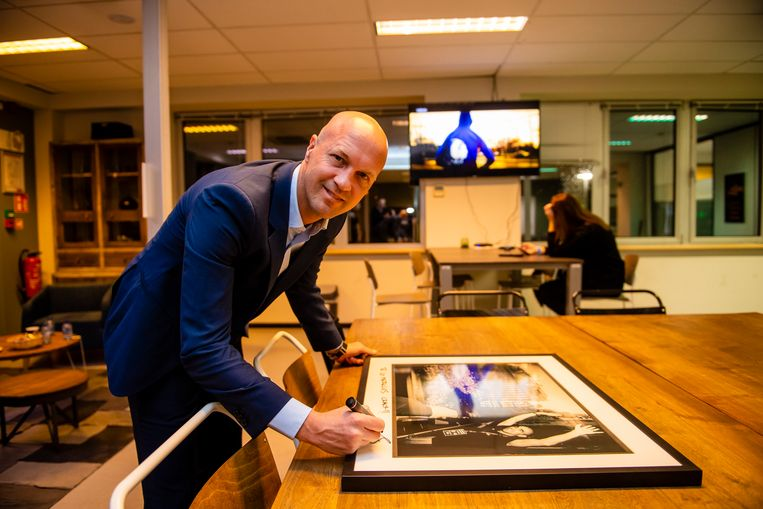 Jordi Cruijff was vorig jaar nog te gast op het Gala van de Gouden Schoen.