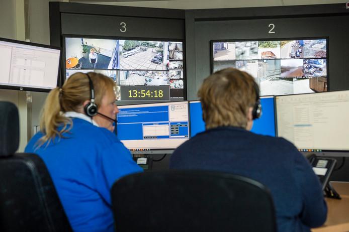 In de controlekamer bij RJ Security