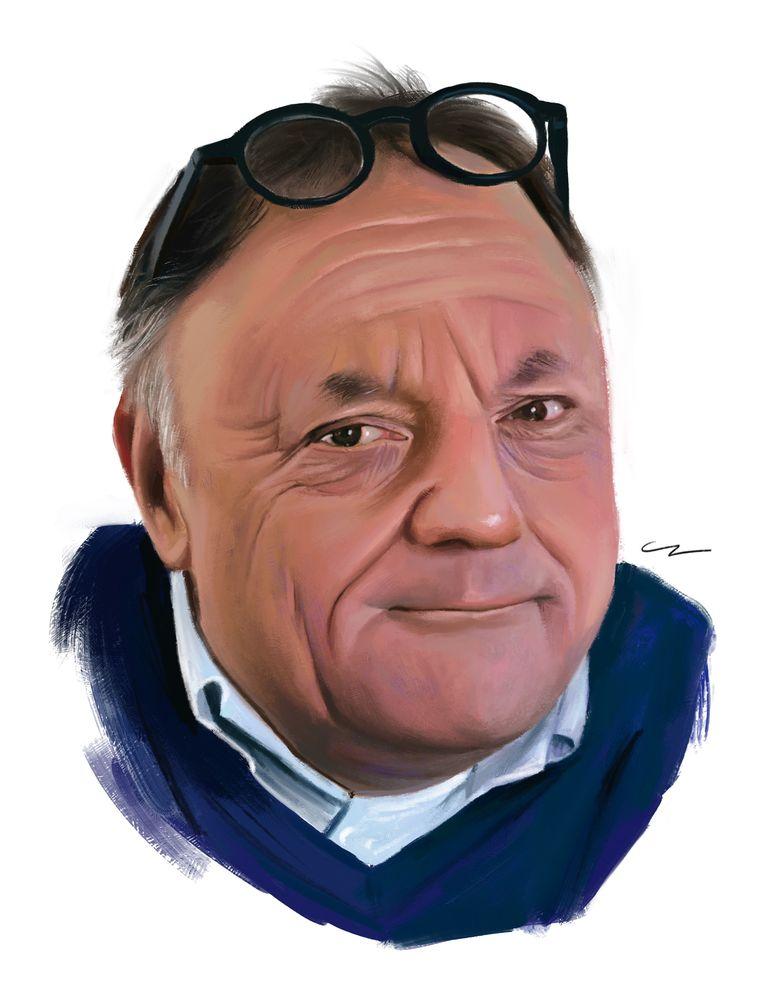 Marc Van Ranst. Beeld studio caro