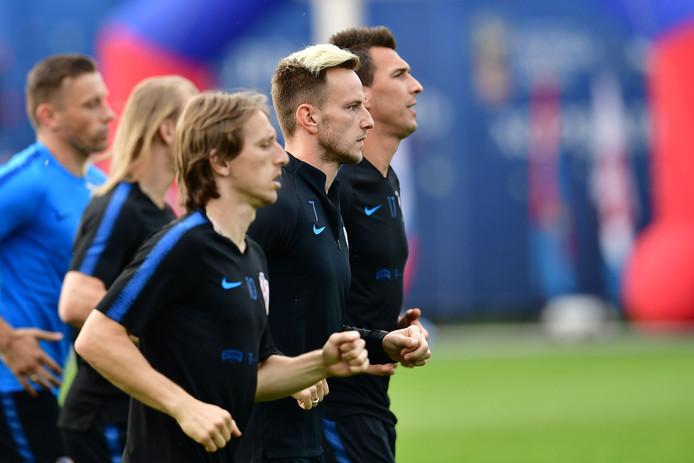 Luka Modric, Ivan Rakitic en Mario Mandzukic. Is Kroatië een outsider?