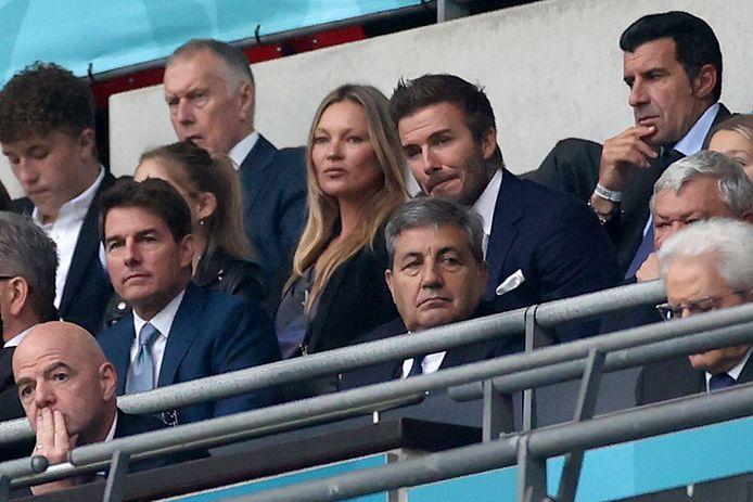 Gianni Infantino, Tom Cruise, David Beckham, Kate Moss et Luis Figo