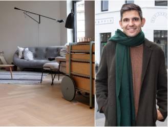 BINNENKIJKEN. Hoe mooi of lelijk woont Hannes Coudenys, de man achter Ugly Belgian Houses, zelf?