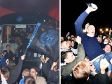 Les images de la nuit de liesse à Bruges après le sacre de champion de Belgique