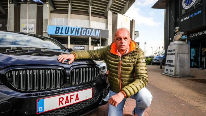 """Hond en auto van Club Bruggefan heten Rafa, en nu speelt Gouden Schoen voor aartsrivaal Anderlecht: """"Ik ben er niet goed van"""""""