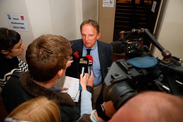 Advocaat Johan Platteau. Beeld belga