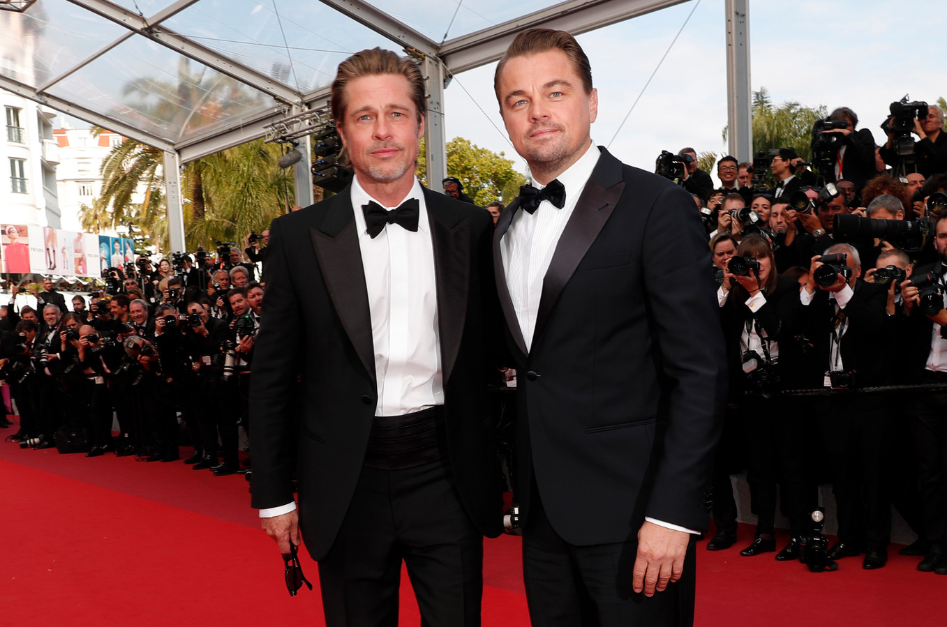 Brad Pitt et Leonardo DiCaprio