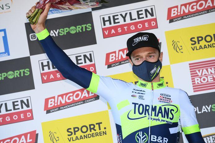 Quinten Hermans pakte in Oostmalle zijn vierde podium van het seizoen.