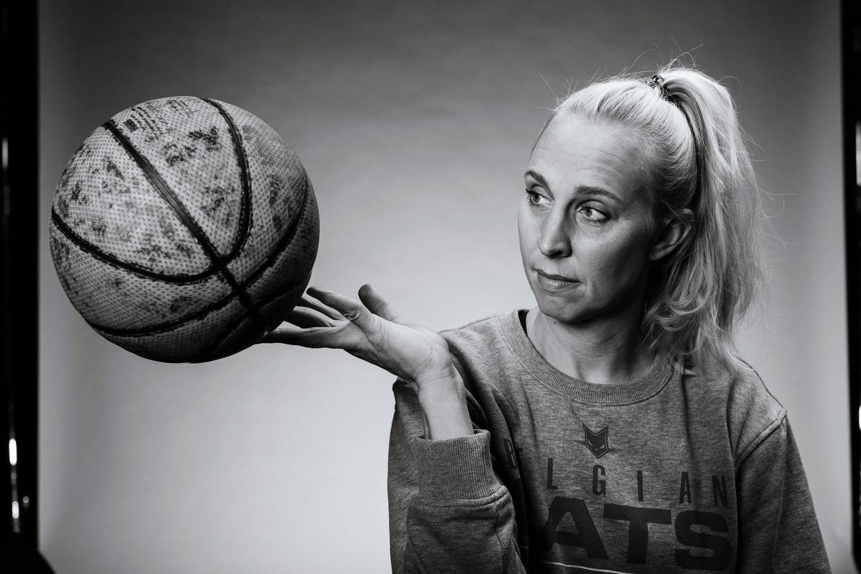 Basketbalster Ann Wauters. Beeld Jef Boes @ initials la