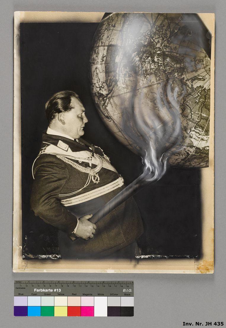 De nazi's spelen met vuur, 1935. Beeld AdK Berlin, The Heartfield Co